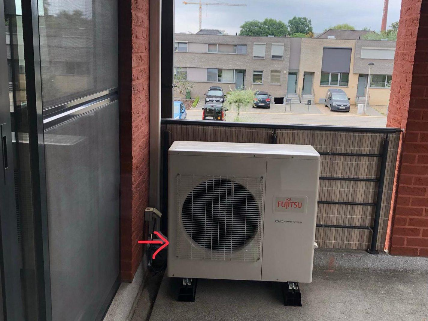 Airco in appartement te Hasselt