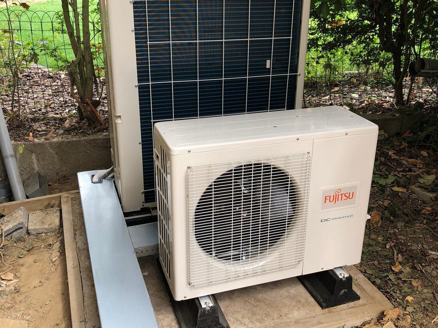 Fujitsu warmtepomp & Airco